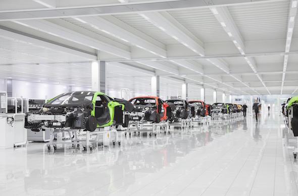 McLaren Automotive revealed £1 billion investment plan
