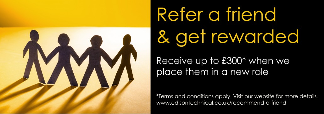 recommend, a, friend, refer, referral, scheme, job, automotive, word-of-mouth, recommendation, edison, technical, recruitment, career, automotive