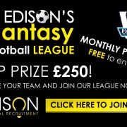 edison technical recruitment, fantasy, football, league, premier, team