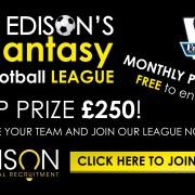 edison technical recruitment, fantasy, football, league, premier, team