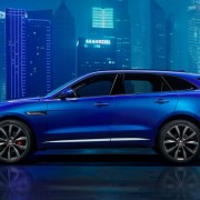 Exclusive picture of the Jaguar F-PACE revealed ahead of Frankfurt Motor Show